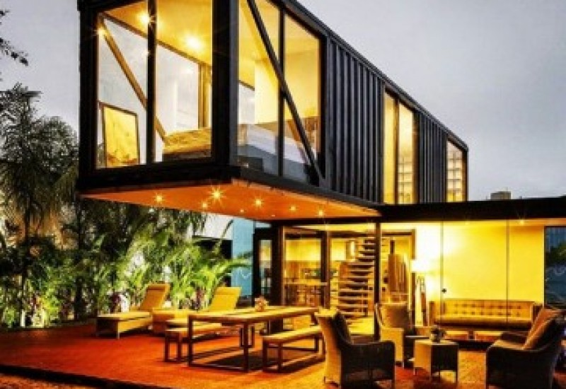Living in a steel box: shipping container homes | Financial ...